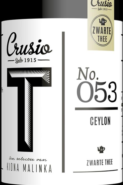 Crusio, Ceylon - Zwart, blik