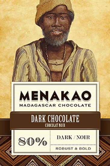 Menakao 80% Dark Chocolate