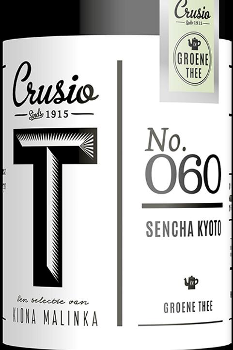 Crusio, Sencha - groen, blik