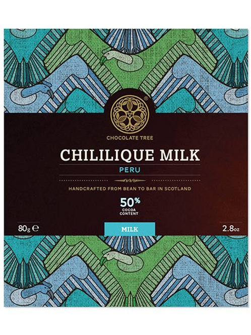 Chocolate Tree 50% Chililique Milk
