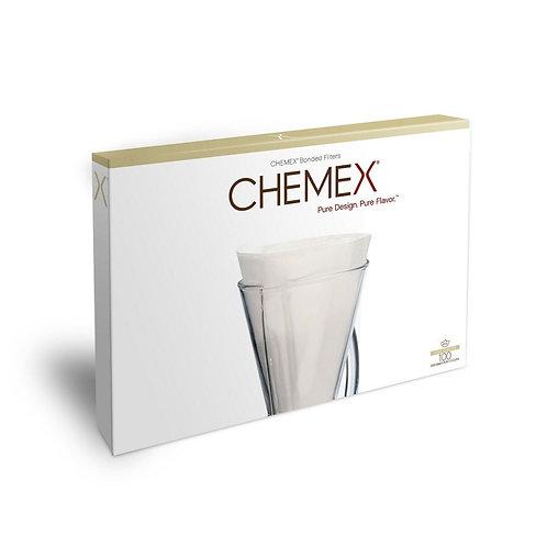 Chemex, filters halve maan (1-3 cup)