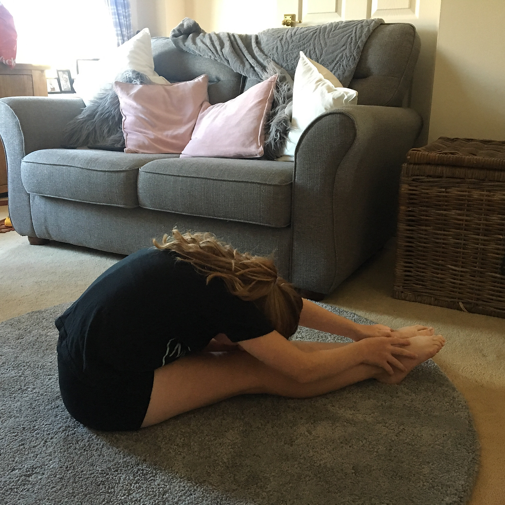 Seated Hamstring Stretch (Pike)
