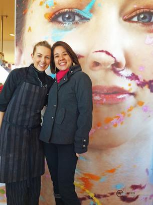 Eu e minha grande amiga Kate Weiser