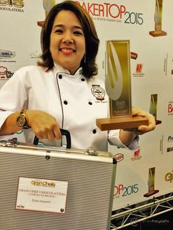 Finalista e terceiro lugar Gran Chef