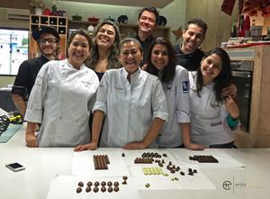 Grandes amigos e chefs da Gran Chef