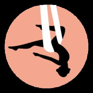 Aerial Yoga Portugal Algarve Aljezur Silkline Balance