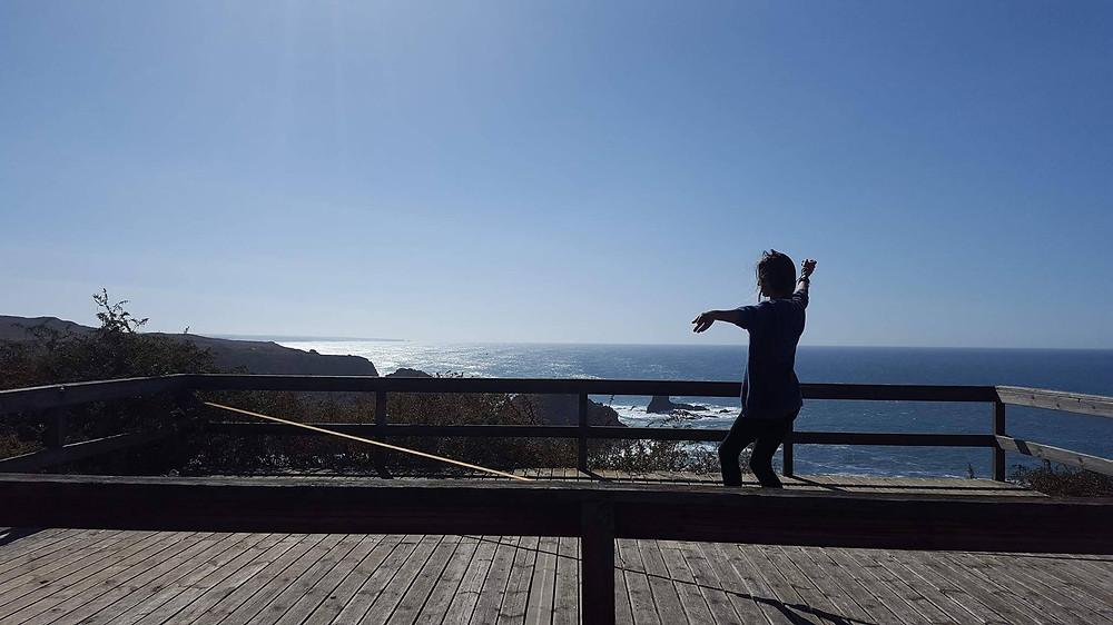 Slackline Portugal Algarve Aljezur Silkline Balance