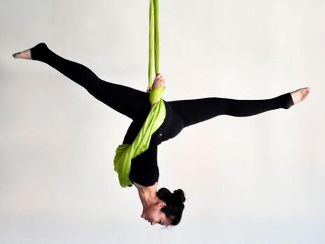 Aerial Yoga Reduces CVD & Cardiometabolic Risks Factors
