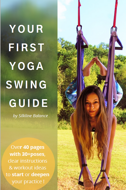 Your First Yoga Swing Guide