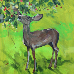 Deer Series, Green