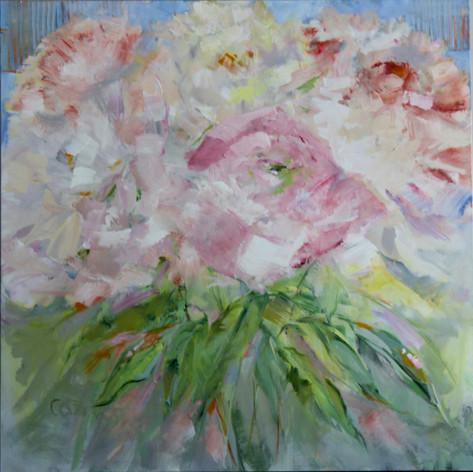 Soft Garden Pinks