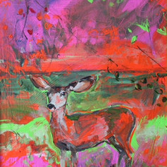 Neon Deer