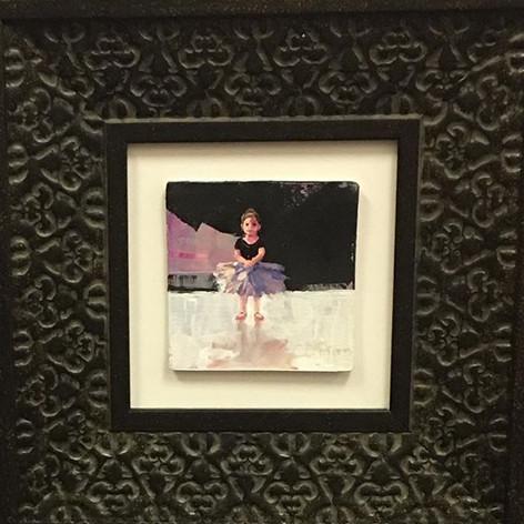 """Little Ballerina 4""""x4"""""""