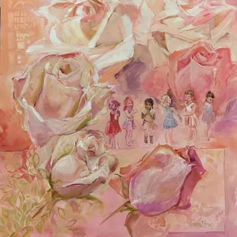 ROSES AND BALLERINAS