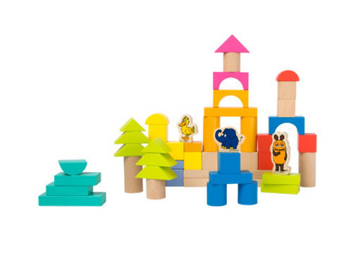 Wooden Blocks With Elephant