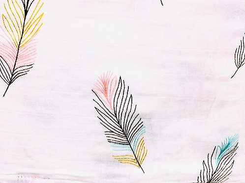 Color Feather Bamoboo Mix Muslins
