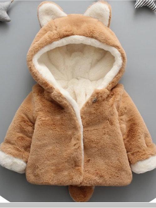 Fox Fluffy Coat