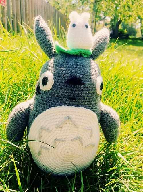 Crochet Large Totoro With Mini Totoro Set