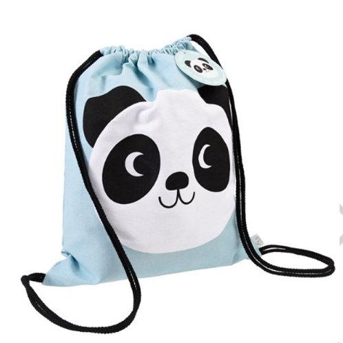 Miko The Panda Drawstring Bag