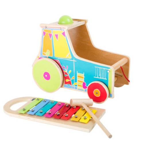 Motor Activity Tractor With Xylophone