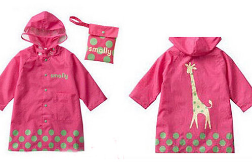 Children Rain Wear-Pink