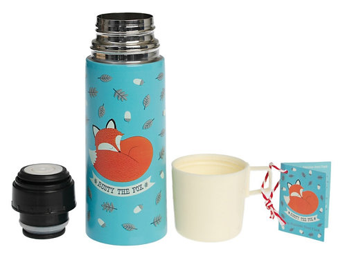 Fox Stainless Steel Flask And Cup