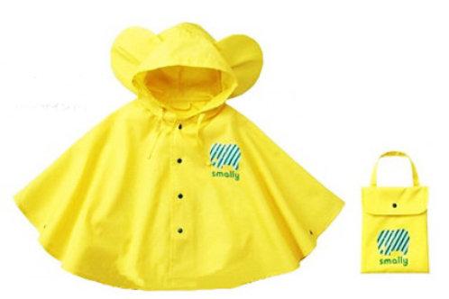 Children Rain Poncho-Yellow