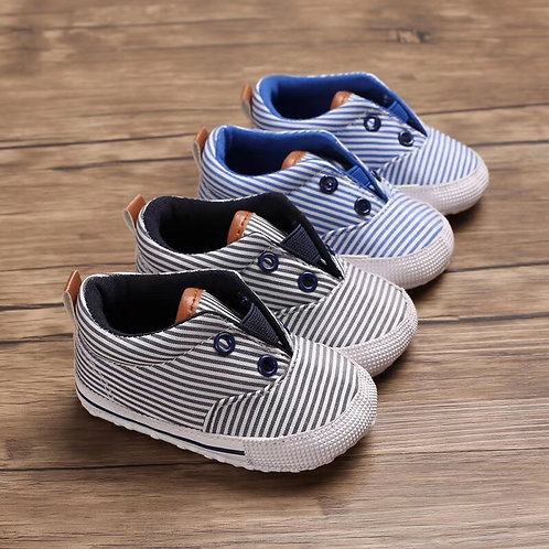 Stripe Canvas Shoes