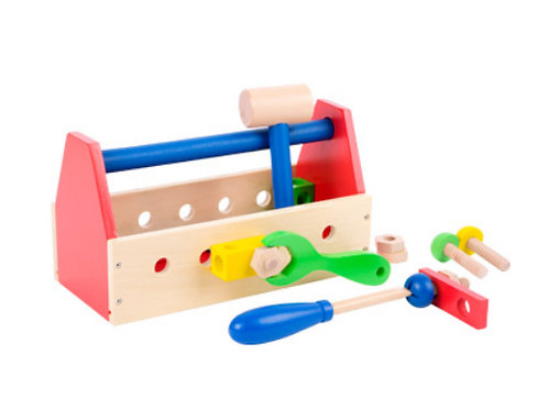 Colourful  Wooden Toolbox