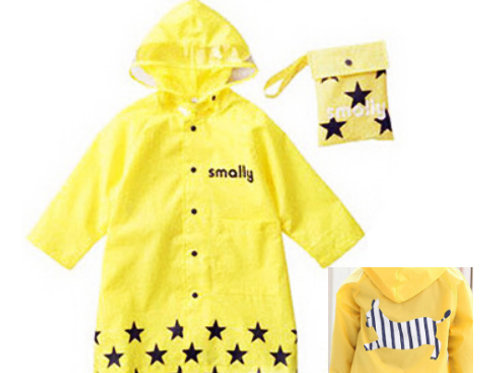 Children Rain Wear-Yellow