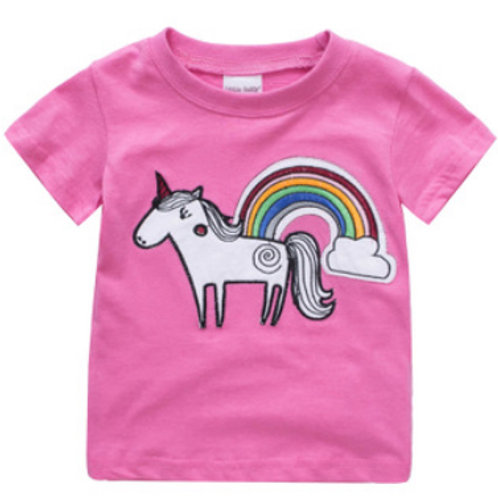 Unicorn Embroidered T-shirt