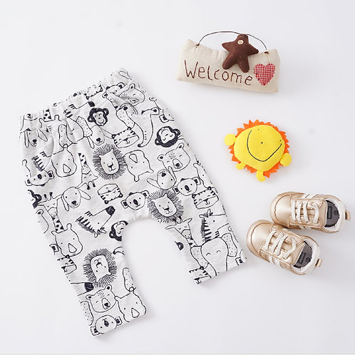Safari Print Trousers
