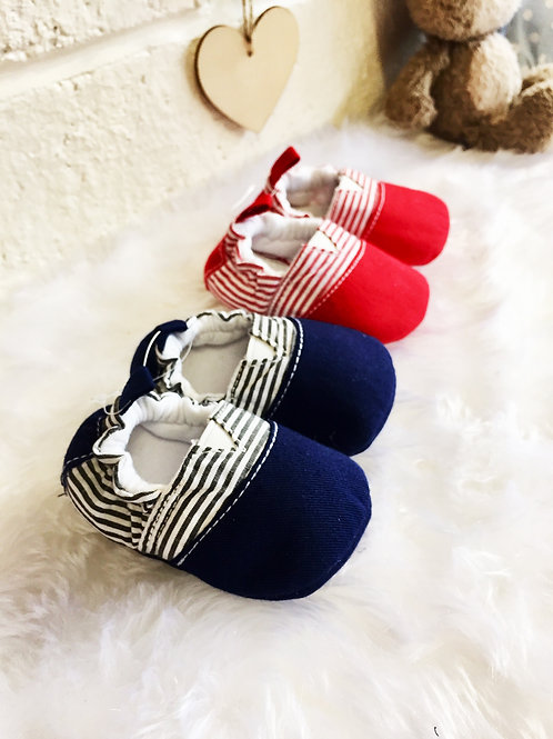 Stripe Canvas Shoes