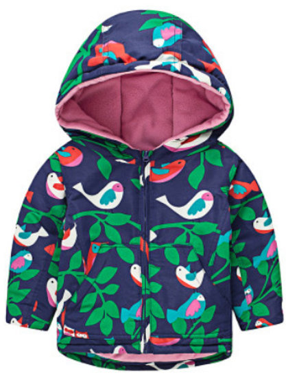 Birds Showerproof  Fleece Lined Jacket