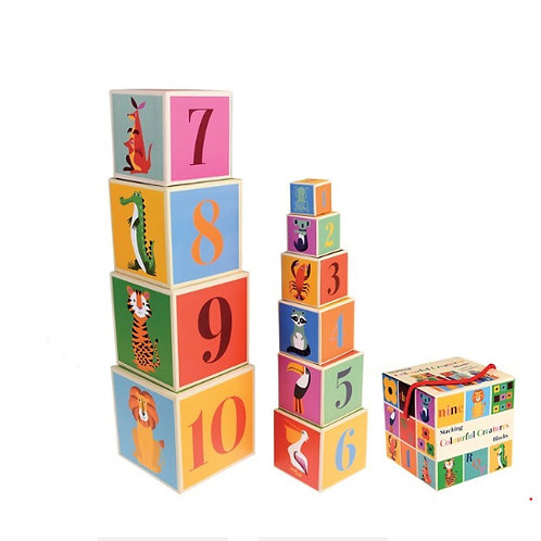 Colourful Stacking Blocks
