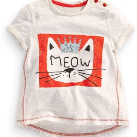 Cat Print T-shirt