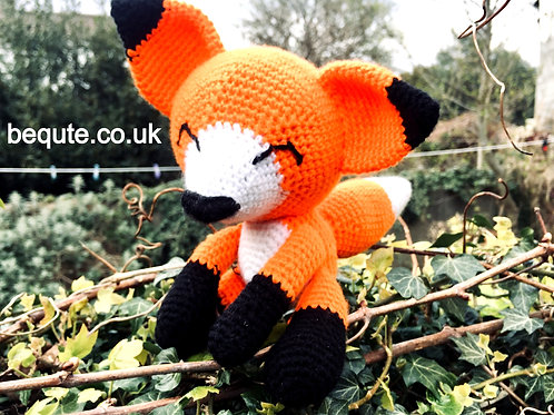 Amigurumi Crochet Fox Plush Soft Toy