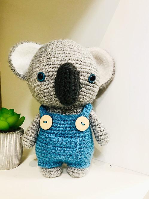 Crochet Koala Plush Soft Toy