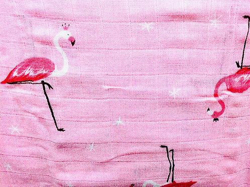 Flamingo Print Muslins