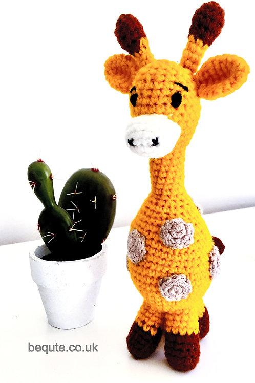 Amigurumi Crochet Giraffe Plush Soft Toy