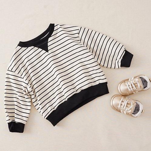 Stripes Sweatshirt(white)