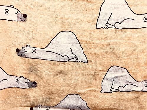 Bear Print Muslins