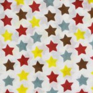 Multiple Star Print Muslins