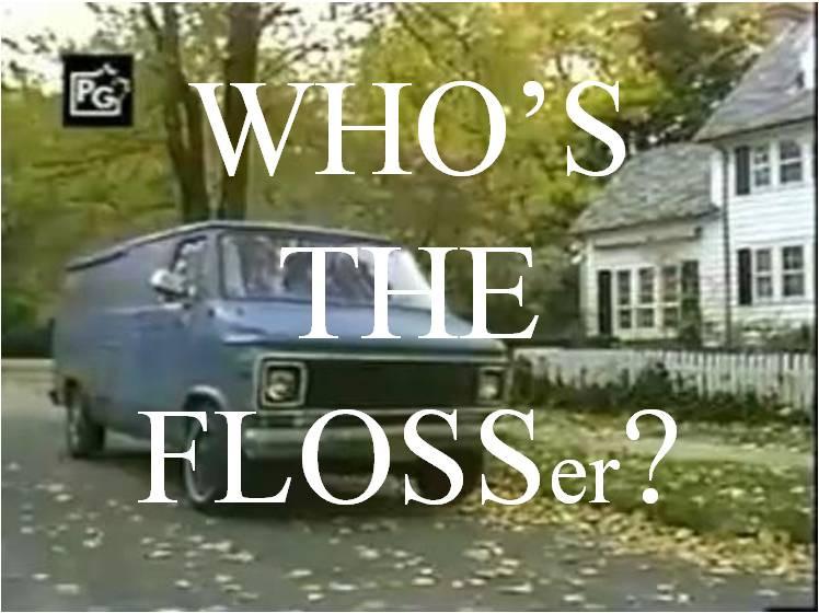 Flossing parody
