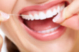 Flossing and good gum and tissue health