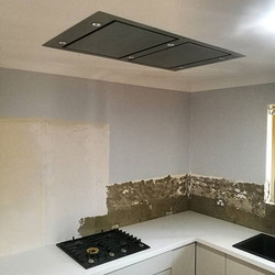 This client took no chances with their Rangehood Selection! Fantastic Schweigen Ceiling Cassette to