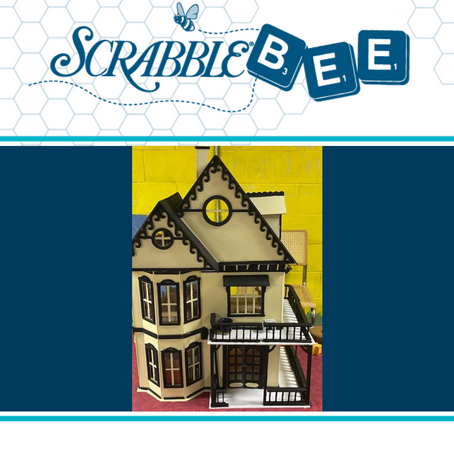 "19th Century Gothic Wooden Dollhouse (33""x24"")"