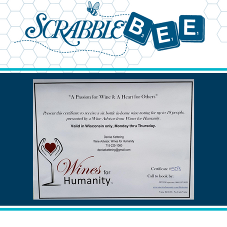Wines For Humanity Certificate