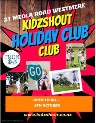 October holiday club