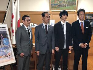 大野元裕 埼玉県知事を表敬訪問